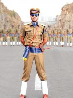 Allari Naresh in uniform