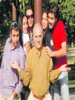 Amar Talwar with Family