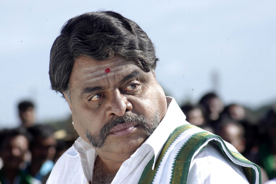Ambareesh in a movie look