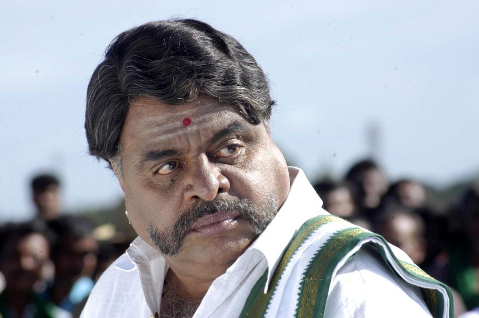 Ambareesh in a movie look