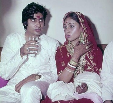 Actor Amitabh Bachchan & Actress Jaya Bachchan
