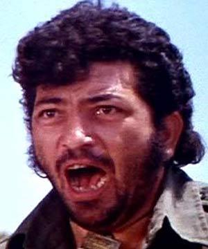 Amjad Khan a bold look in film