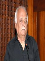 Anwar Maqsood delivering speech