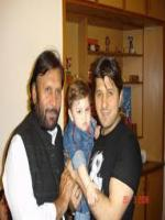 Arbaaz Khan with Kamran Mujahid