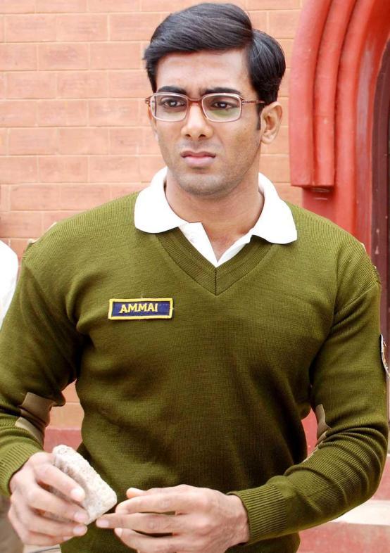 Anoop Kumar in a movie