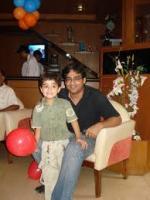 Anuj Gurwara with Kid