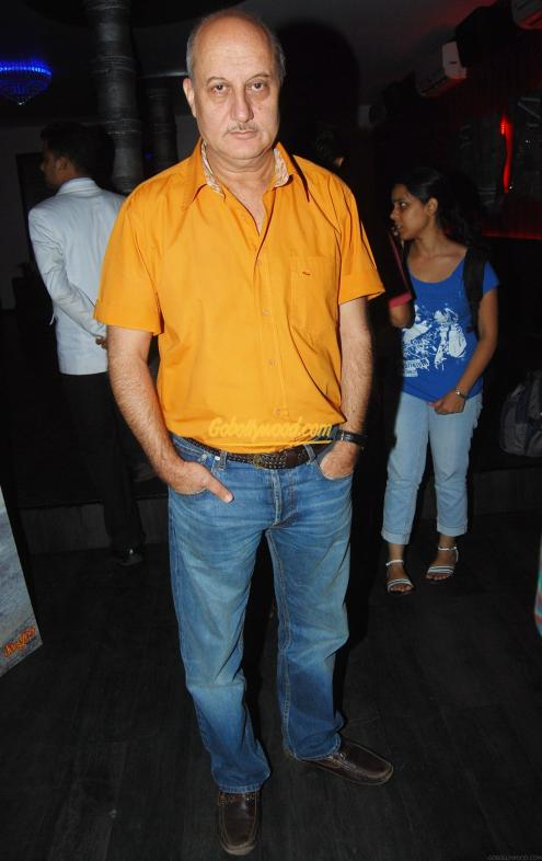 Anupam Kher in party