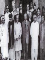 Sardar Shaukat Hayat Khan With Bhuto