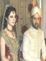 Atif Aslam and Sara Bharawan Marriage Photo