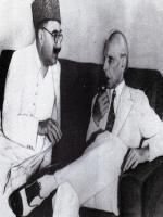 Sardar Abdur Rab Nishtar With Quaid-E-Azam