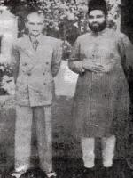 Nawab Bahadur Yar Jung With Quaid-e-Azam