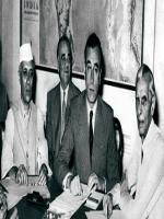 Chaudhry Khaliquzzaman With Quaid-e-Azam