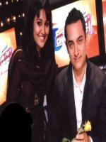 Sara Raza Khan with Aamir Khan