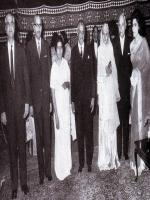 Mr Ghulam Faruque with Fatima Jinnah