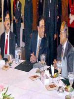 Abdul Hameed Dogar With President Zardari
