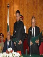 Abdul Hameed Dogar Taking Oath