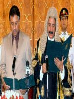 Iftikhar Muhammad Chaudhry Taking Oath