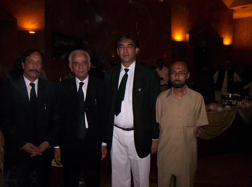 Mirza Aziz Akbar Baig Group Photo