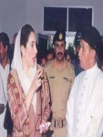 Hakim Said With Benazir Bhuto