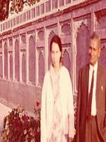 Abdur Rahman Hye with Wife