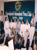 Hammad Husain in Press Club
