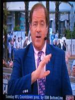 Chris Berman American Sportscaster