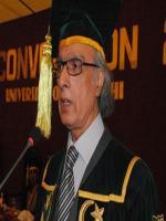 VC Karachi University Pirzada Qasim