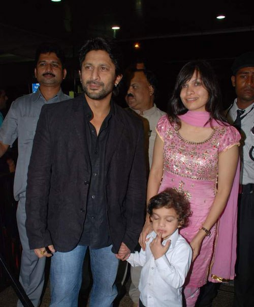 Arshad Warsi with family
