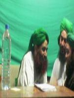 Muhammad Ilyas Qadri with Owais Qadri