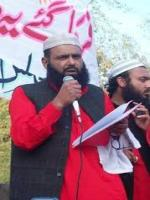 Abdul Latif Khalid Cheema Addressing to people
