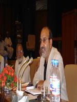 Zafar Ishaq Ansari with Dr Ebrahim