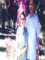 Abdul Qadeer Khan with Wife