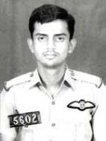 Rashid Minhas in Uniform