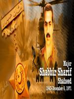 Shabbir Sharif Battle Poterate