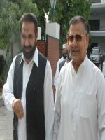 Mirza Aslam Beg with mian Aslam