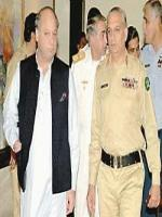 Jehangir Karamat With Nawaz sharif