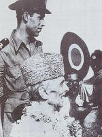 Syed Mohammad Ahsan with Jinnah