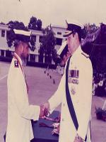 Tariq Kamal Khan Giving Ranks