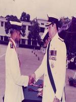 Karam ud Din with Tariq Kamal Khan