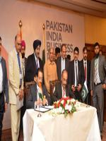 Aftab Ahmed Vohra Signing Pakistan-India Bussiness
