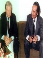 Agha Hasan Abedi with Jimmy Carter