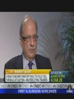 Shahid Javed Burki with CNBC