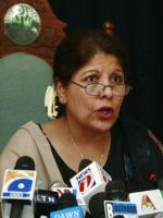 Shamshad Akhtar Talks to Media