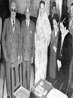 Zahid Husain With Sir Aga Khan III
