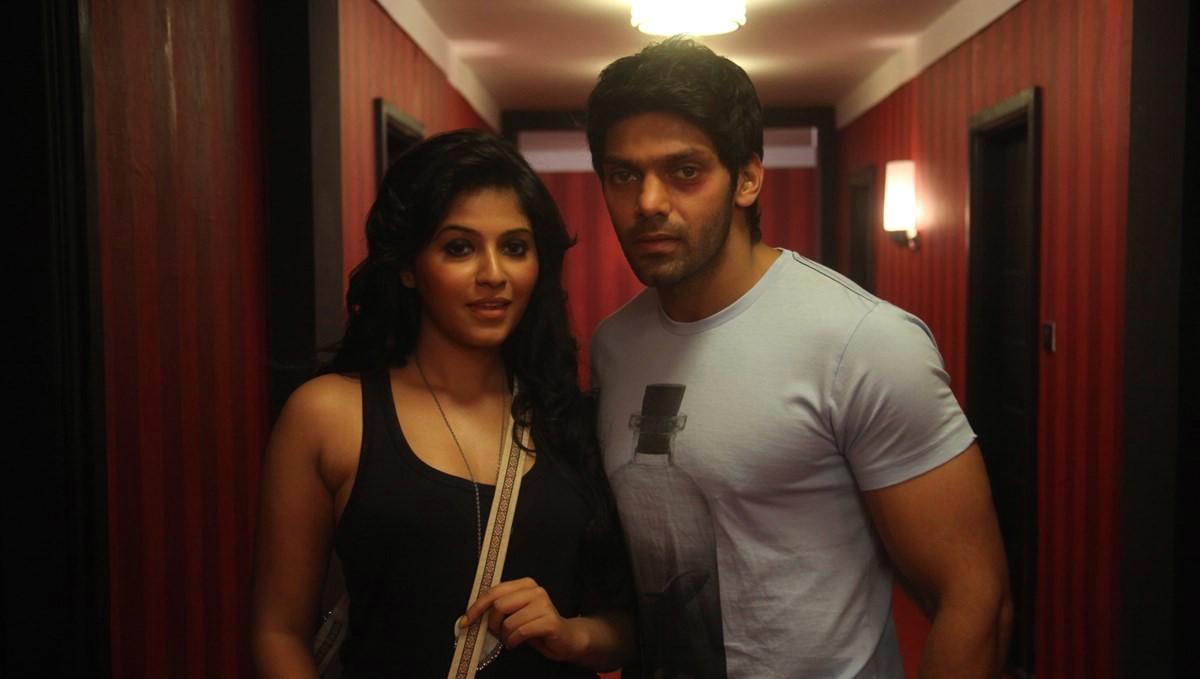 Arya(Actor) and Actress Anjali