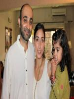 Mohsin Hamid With Family