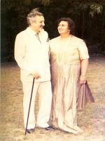 Ardeshir Cowasjee with His Wife