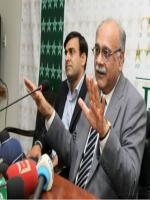 Najam Sethi In Press Conference