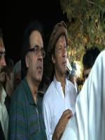 Shahid Masood  with Imran Khan