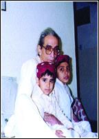 Zamir Niazi With family